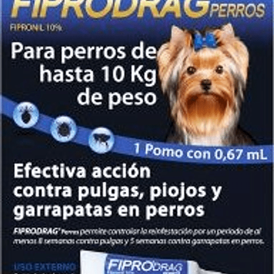 Fiprodrag (para perros hasta 10 Kg)