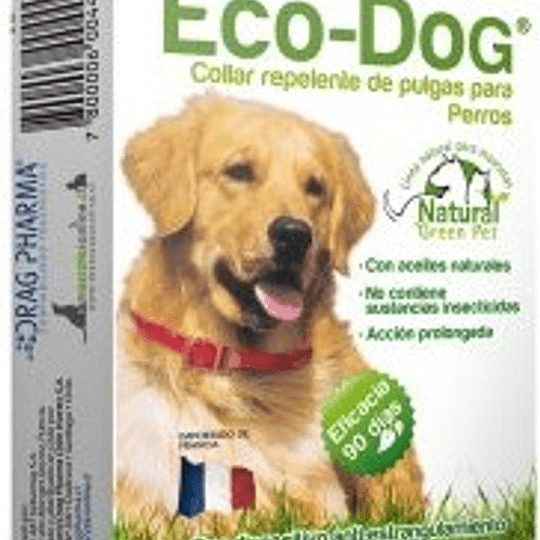 Collar Antipulgas Eco-Dog