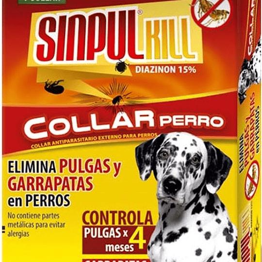 Collar Antipulgas Sinpul Kill Perro