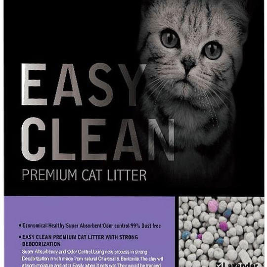 Arena Sanitaria Easy Clean (aroma lavanda) 4 Kg