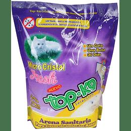 Arena Sanitaria Top K9 (micro cristales) 1.6 Kg