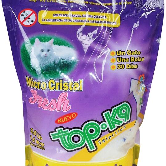 Arena Sanitaria Top K9 (micro cristales) 3.2 Kg