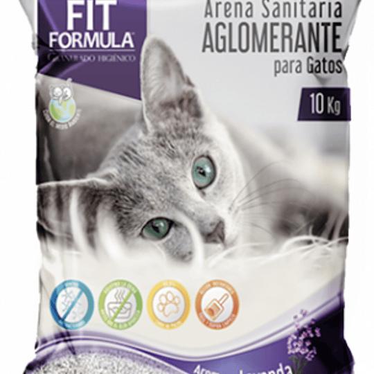 Arena Sanitaria Fit Formula (Aroma Lavanda) 10 Kg