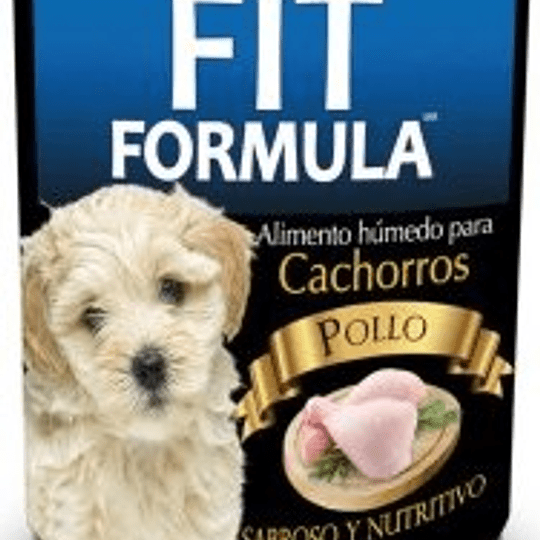 Fit Formula Lata Cachorro (pollo) 280 g