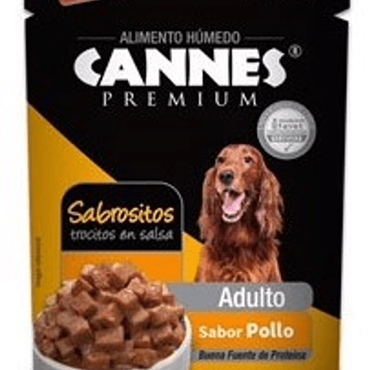 Cannes Sobrecito Adulto (pollo) 100 g