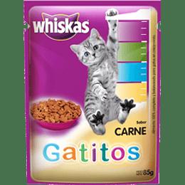 Whiskas Sobrecito Gatito (carne) 85 g