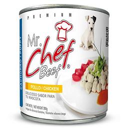 Mr. Chef Lata Cachorro (Pollo) 280 g