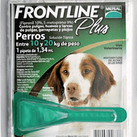Frontline (para perros de 10 a 20 Kg)