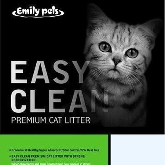 Arena Sanitaria Easy Clean (aroma manzana) 4 Kg