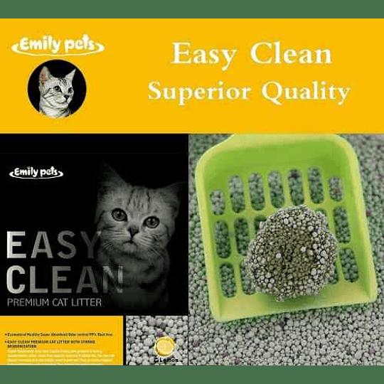 Arena Sanitaria Easy Clean (aroma limón) 4 Kg