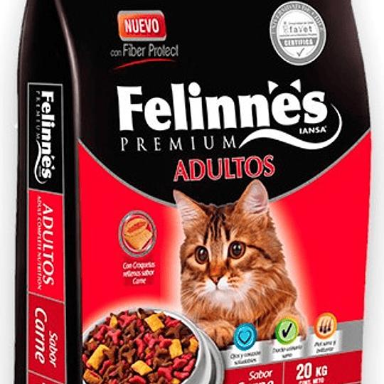 Felinnes Adulto (carne) 20 Kg