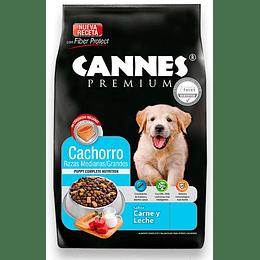 Cannes Cachorro (carne y leche) 18 Kg