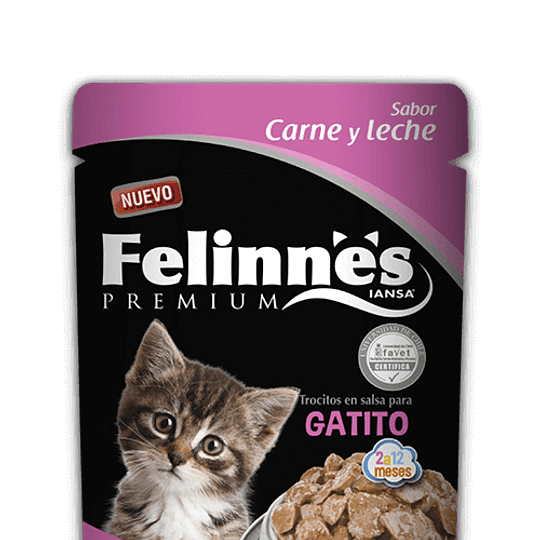 Felinnes Sobrecito Gatito 85 g