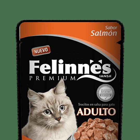 Felinnes Sobrecito Adulto Salmón 85 g