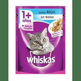 Whiskas Sobrecito Adulto Atún en Salsa 85 g