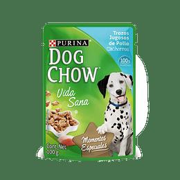 Dog Chow Sobrecito Cachorro Trozos Jugosos de Pollo 100 g
