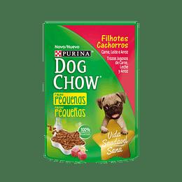 Dog Chow Sobrecito Cachorro Razas Pequeñas Trozos Jugosos de Carne 100 g
