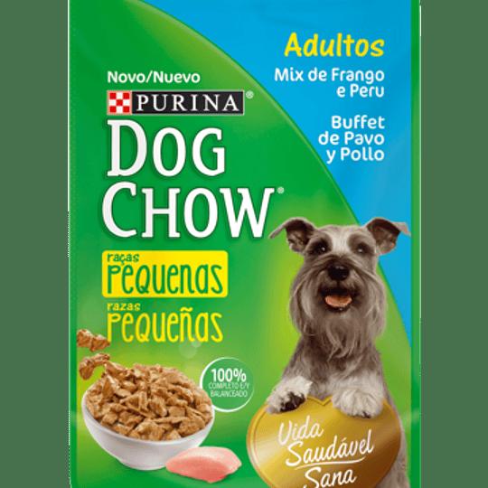 Dog Chow Sobrecito Adulto Razas Pequeñas Buffet de Pavo 100 g