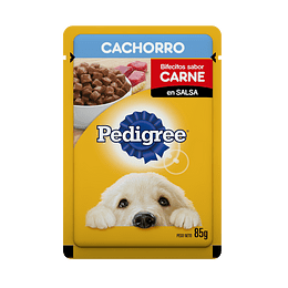 Pedigree Sobrecito Cachorro Carne en Salsa 100 g