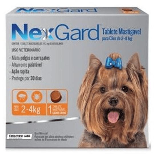 Nexgard 2 - 4 kg (1 comprimido)