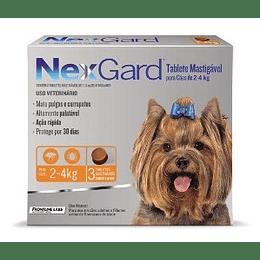 Nexgard 2 - 4 kg (3 comprimidos)