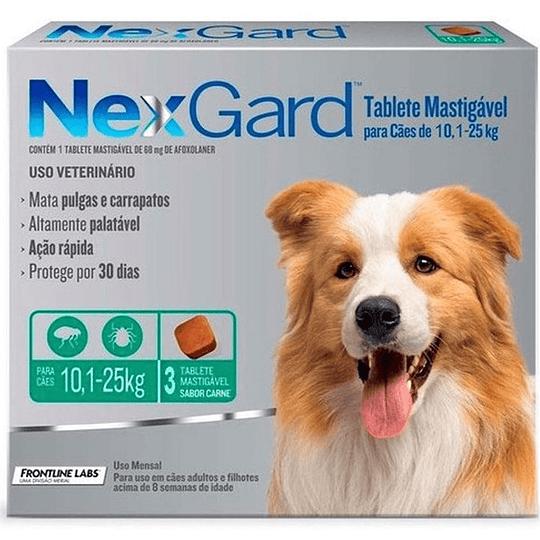 Nexgard 10 - 25 kg (3 comprimidos)