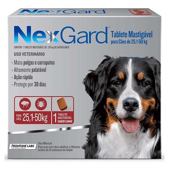 Nexgard 25 - 50 kg (1 comprimido)