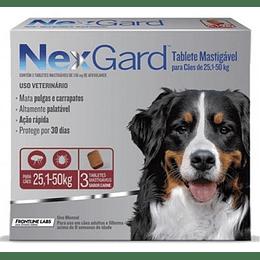 Nexgard 25 - 50 kg (3 comprimidos)