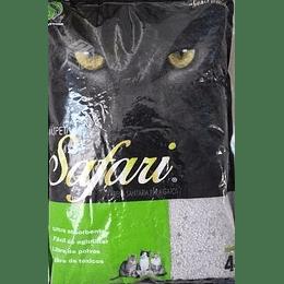 Arena Sanitaria Safari (aroma manzana) 8 Kg