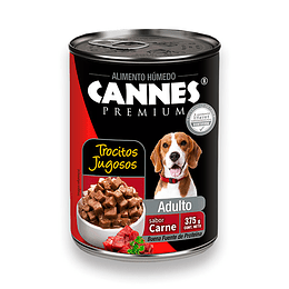 Cannes Lata Adulto (carne) 375 g