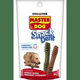 Master Dog Snack Dent (paquete de 2 unidades) 96 g