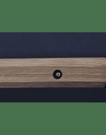 Tanto Shirasaya madera natural acero 1045