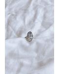 Anillo Opalo Dendrítico