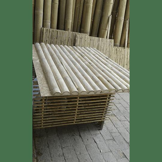 Tablero con Media Caña de Bambú Guadua - Image 2