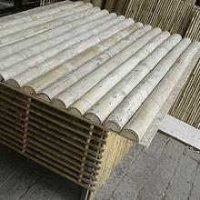 Tablero con  Media Caña Bambú Guadua