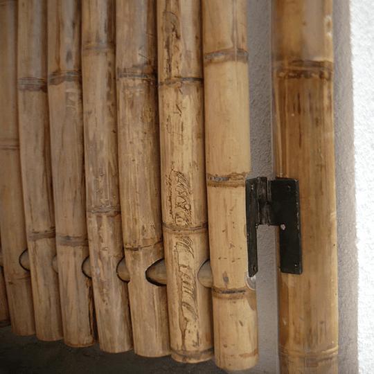 Panel con vara enteras de Bambú Guadua - Image 2
