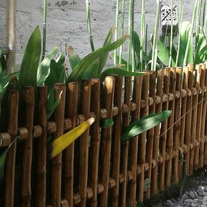 Reja de Jardín con Bambú Colihue 30x100 cm