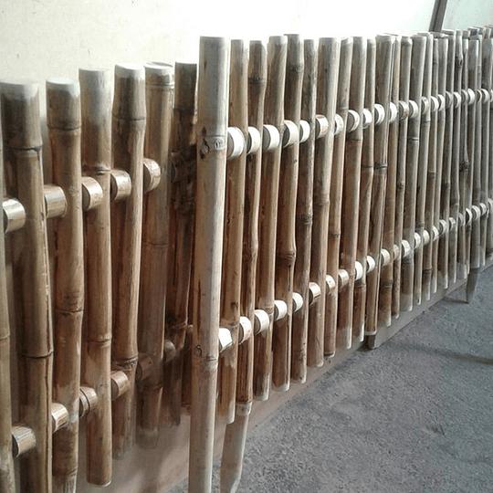 Reja de Jardín con Bambú Colihue - Image 2