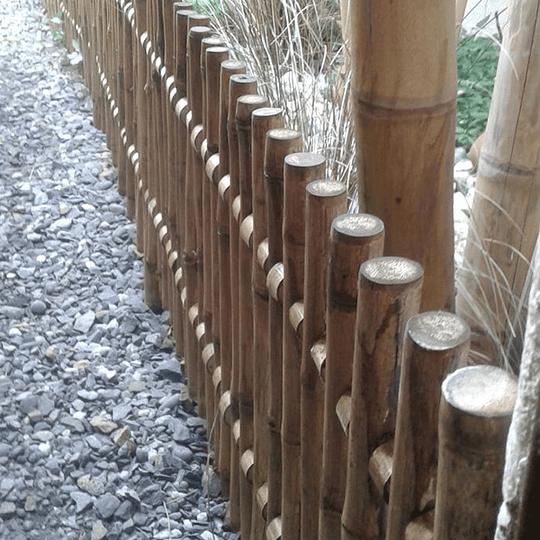 Reja de Jardín de Bambú Colihue - Image 3