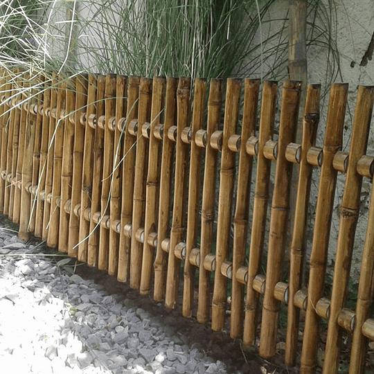 Reja de Jardín de Bambú Colihue - Image 4