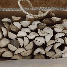 Media caña de Bambú Colihue