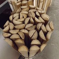 Media caña Colihue, 3 cms de ancho por 33 unidades
