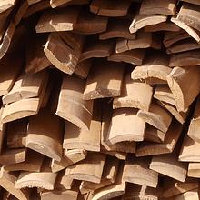 Tablillas a 4 cms de bambu asper o guadua