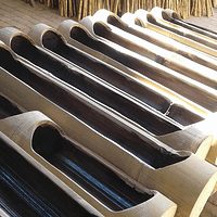 Jardinera Horizontal Bambú