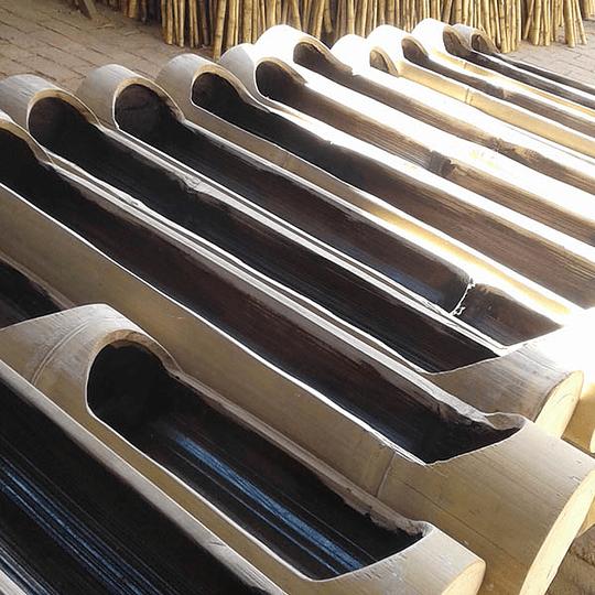 Jardinera Horizontal de Bambú - Image 2