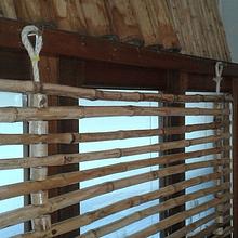 Panel Flexible con colihue y soga