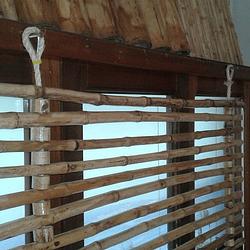 Panel Flexible con anillos de Bambú Colihue