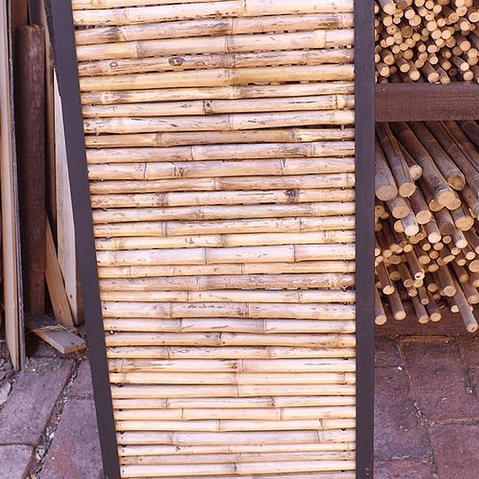 Panel Rígido de Bambú Colihue enmarcado con fierro - Image 3