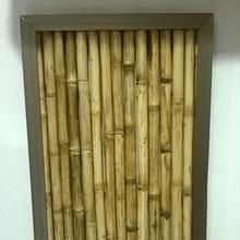 Panel colihue enmarcado en aluminio