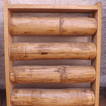 Panel Rígido de Bambú Guadua y Enmarcado con madera